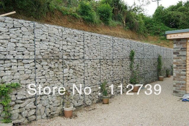 Cl ture lourd hexagonal soud grillage pour un mur de sout nement china mainland mur de - Grillage pour gabion ...