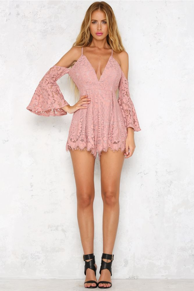 Ultimatum Playsuit Blush | S | Pinterest