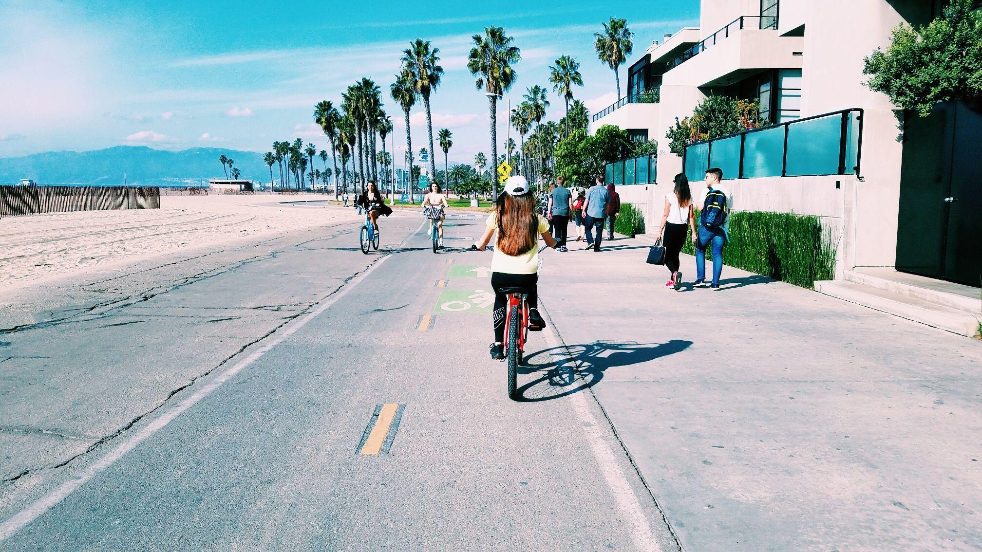 Bike riding in venice beach venice beach tumblr