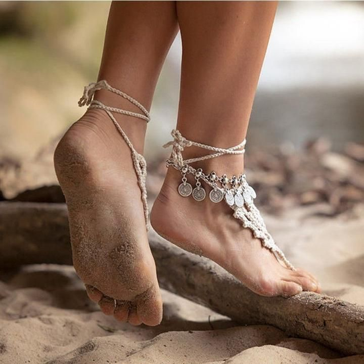 Naked girl anklet — photo 10
