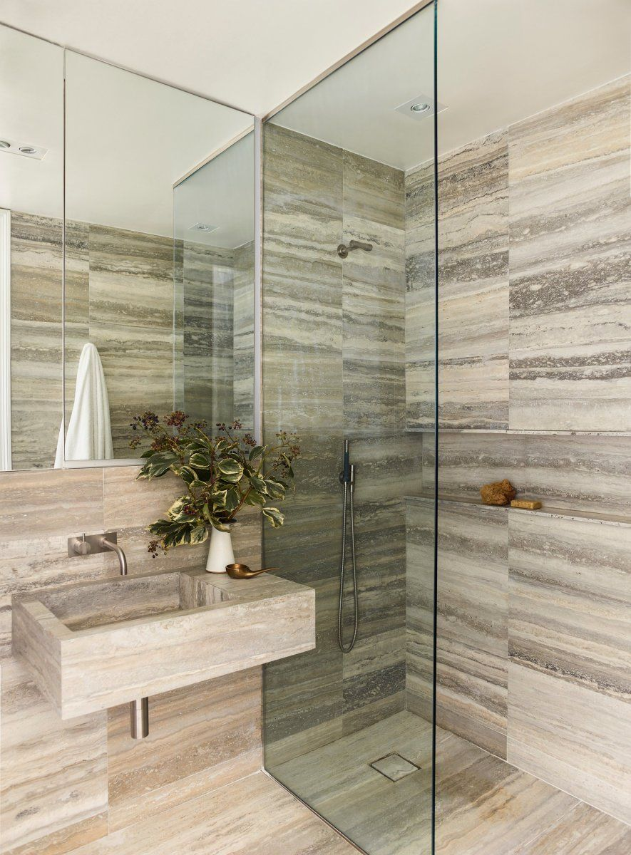A Guest And Full Bathroom Renovation In Manhattan S East Village Full Bathroom Remodel Bathroom Trends Bathroom Renovation Trends