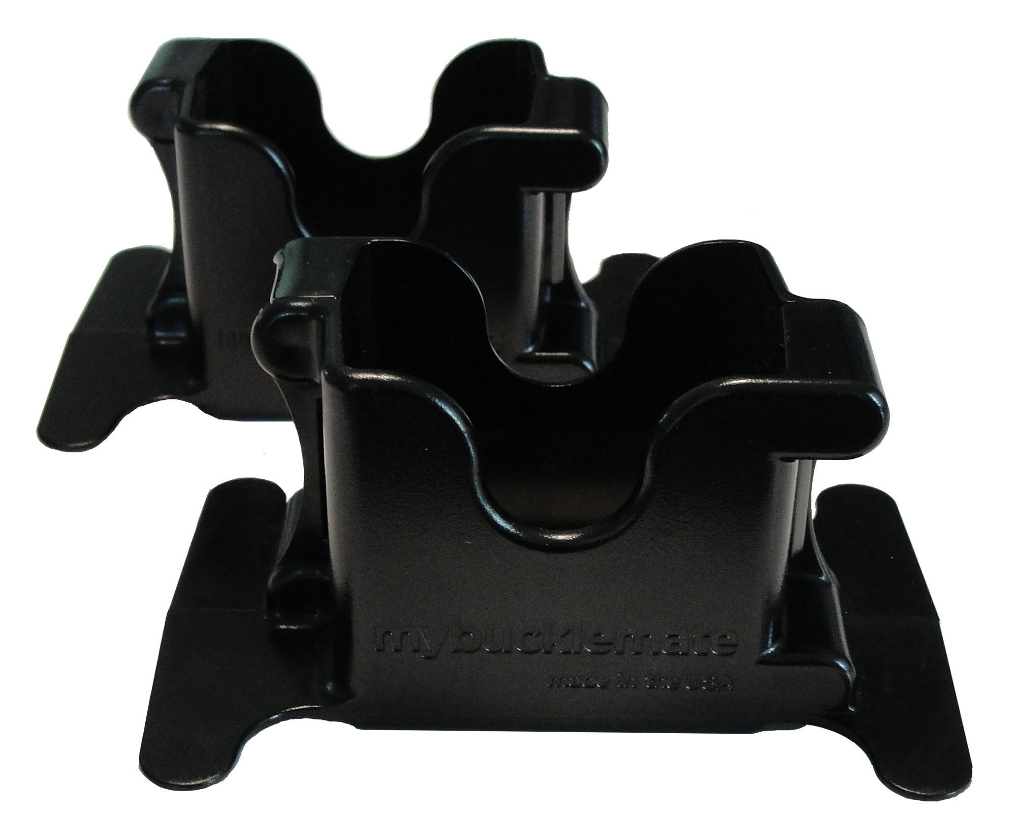 MyBuckleMate Black (2 Pack) Seat belt buckle, Baby car
