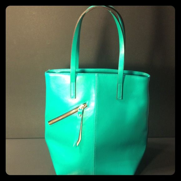 Aquamarine blue Shoulder Bag Aquamarine Handbag with detachable shoulder strap and good compartments, never been used. Bags Shoulder Bags