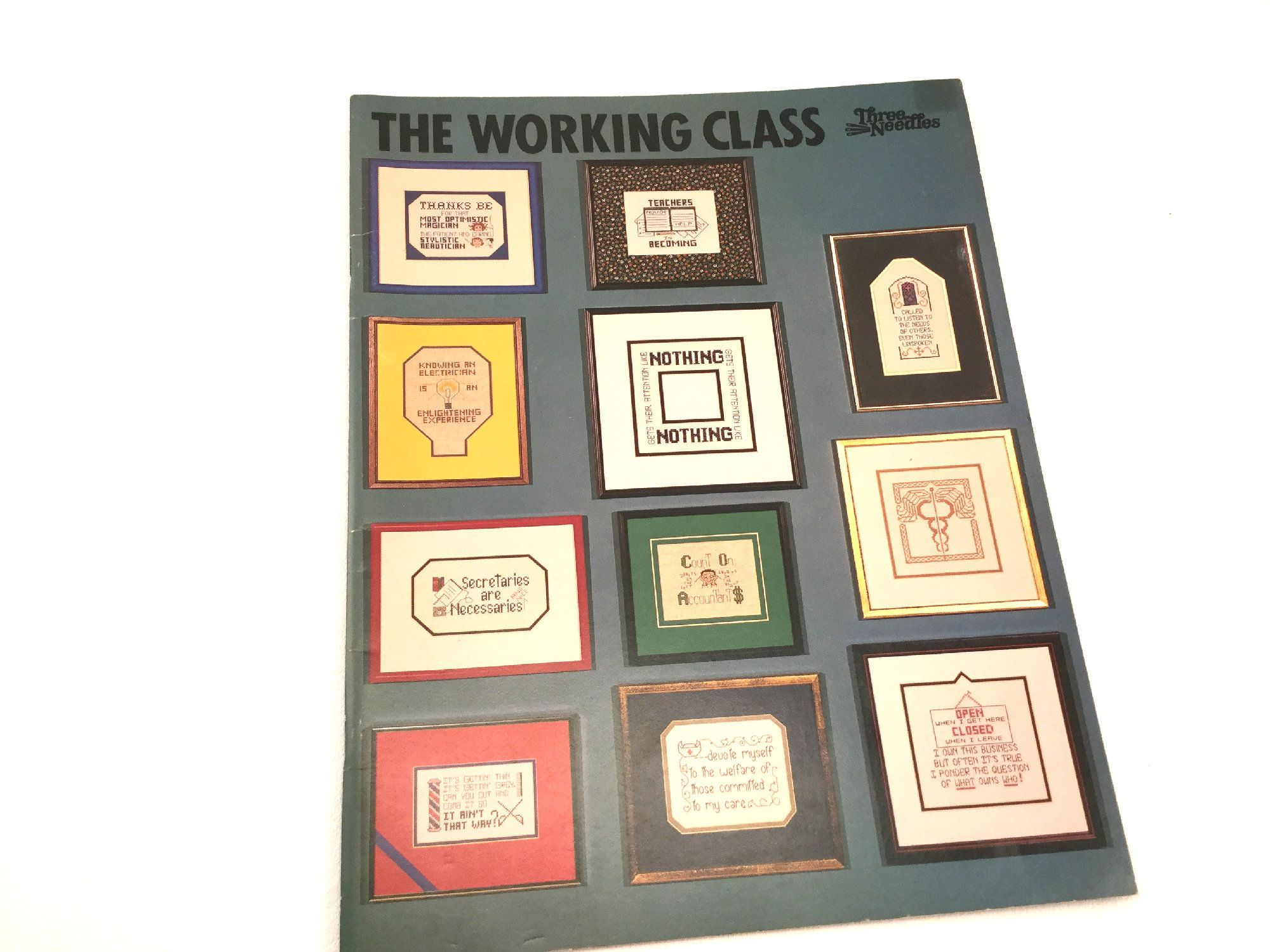 Recognize A Special Profession With A Custom Sampler Crossstitch