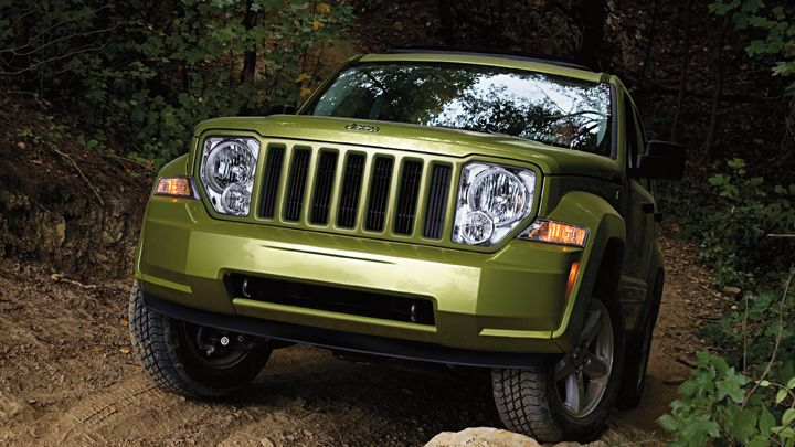 Trail Rated 2013 Jeep Liberty 4x4 Shown In Rescue Green Metallic