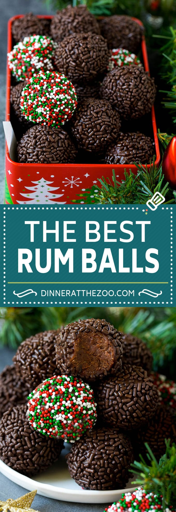 Rum Balls Recipe - Dinner at the Zoo