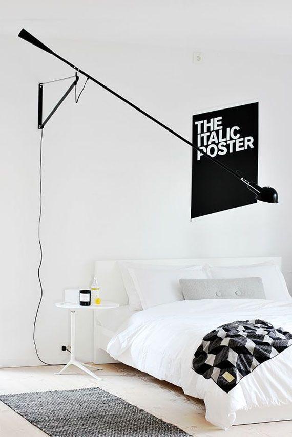 The Flos 265 Swivel Arm Wall Sconce Minimalist Bedroom Design 265 Wall Lamp Bedroom Interior