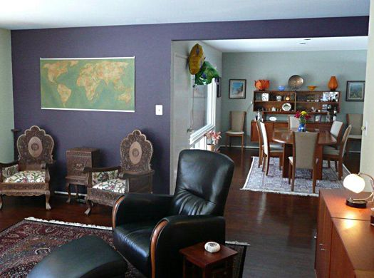 For The Wall Colorwould Have Accents Of Color Peeking Out From Simple Dining Room Accent Wall Colors Design Inspiration