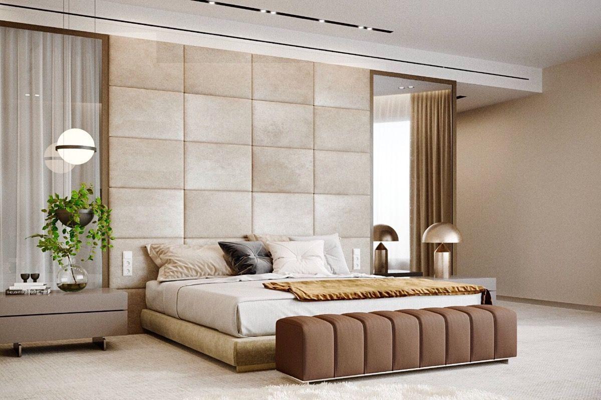 Accent Wall Ideas - Possess Monotonous Bedroom