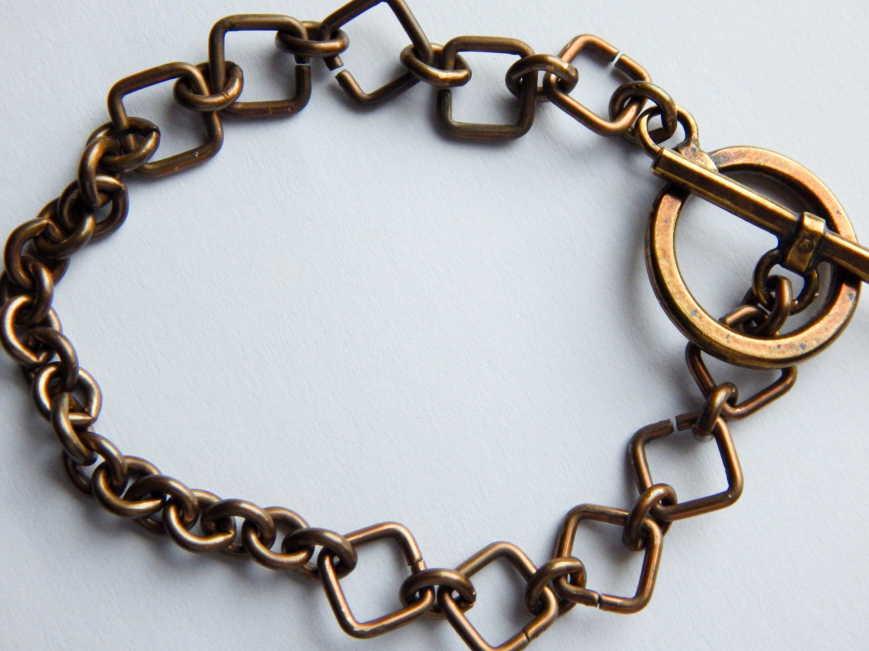 Unisex bracelet mens bracelet chunky bracelet gift for him boho