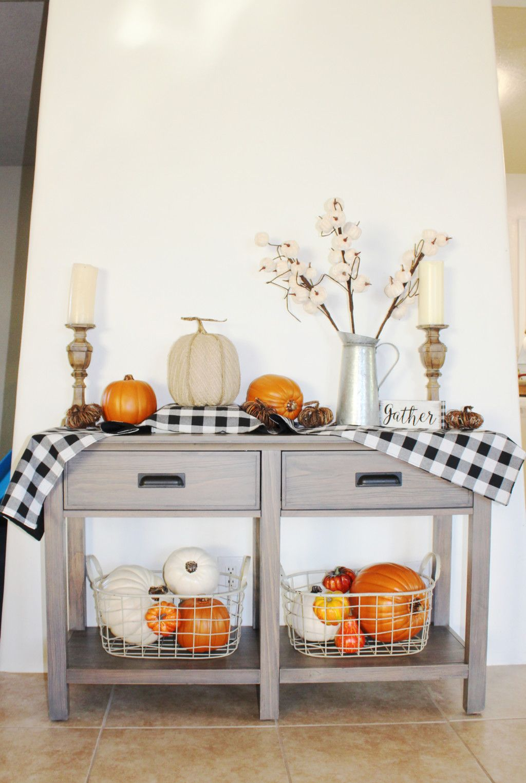 Simple Fall Home Decorating Ideas