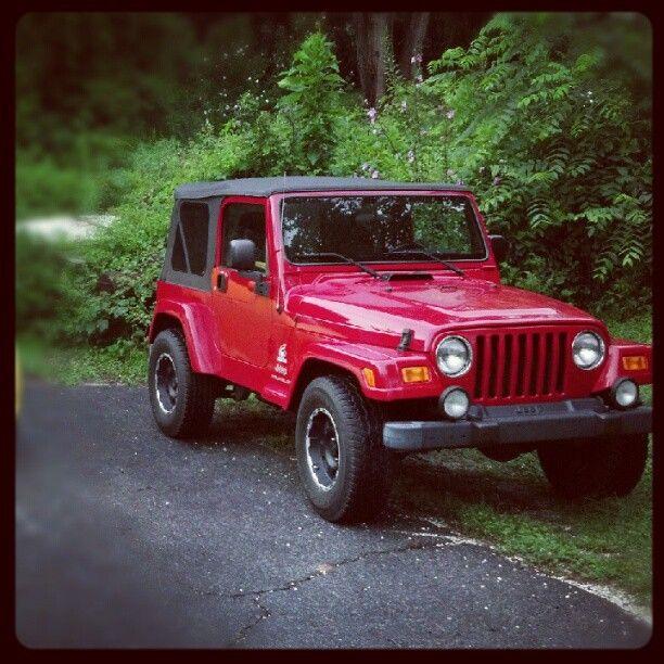 My Future Car Red Jeep Wrangler 2 Door Yup