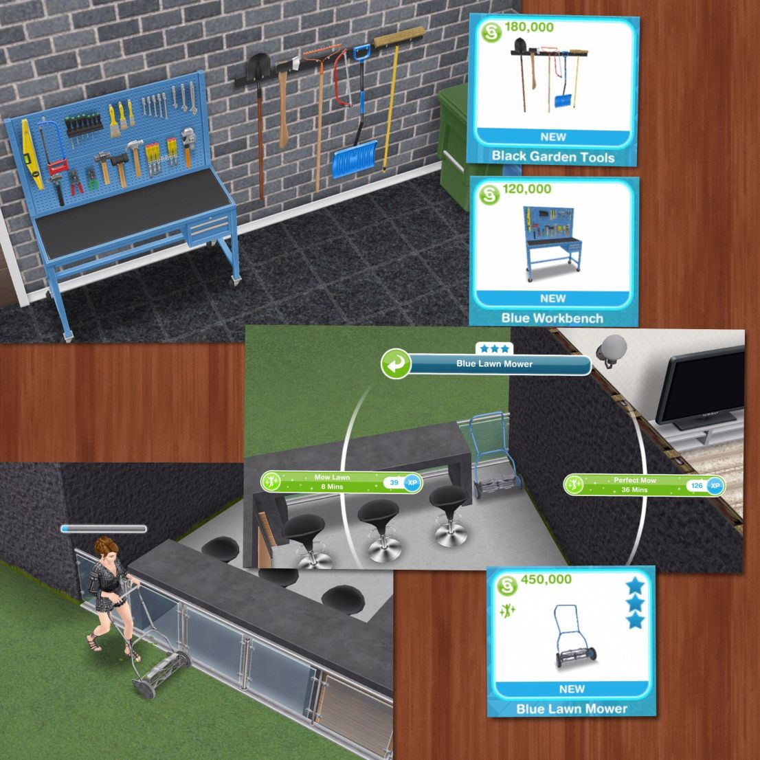 The Sims Freeplay Grand Garages Live Event The Girl Who Games Garage Door Design Sims Single Garage Door