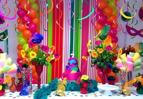 Decoração de Festa à Fantasia | Dicas para Festas ...