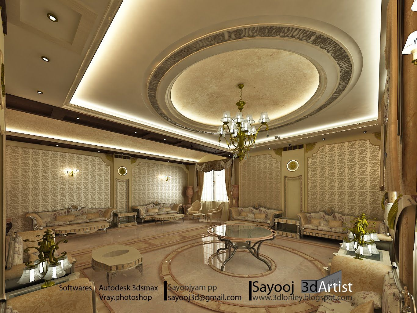 You can have a look at our lavish women majlis designs in the gallery - Arabic Majlis Designs Axis Architecture Designs Arabic Majlis Designs