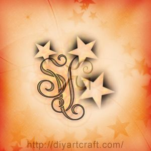 #tattoo unisex #monogram SV