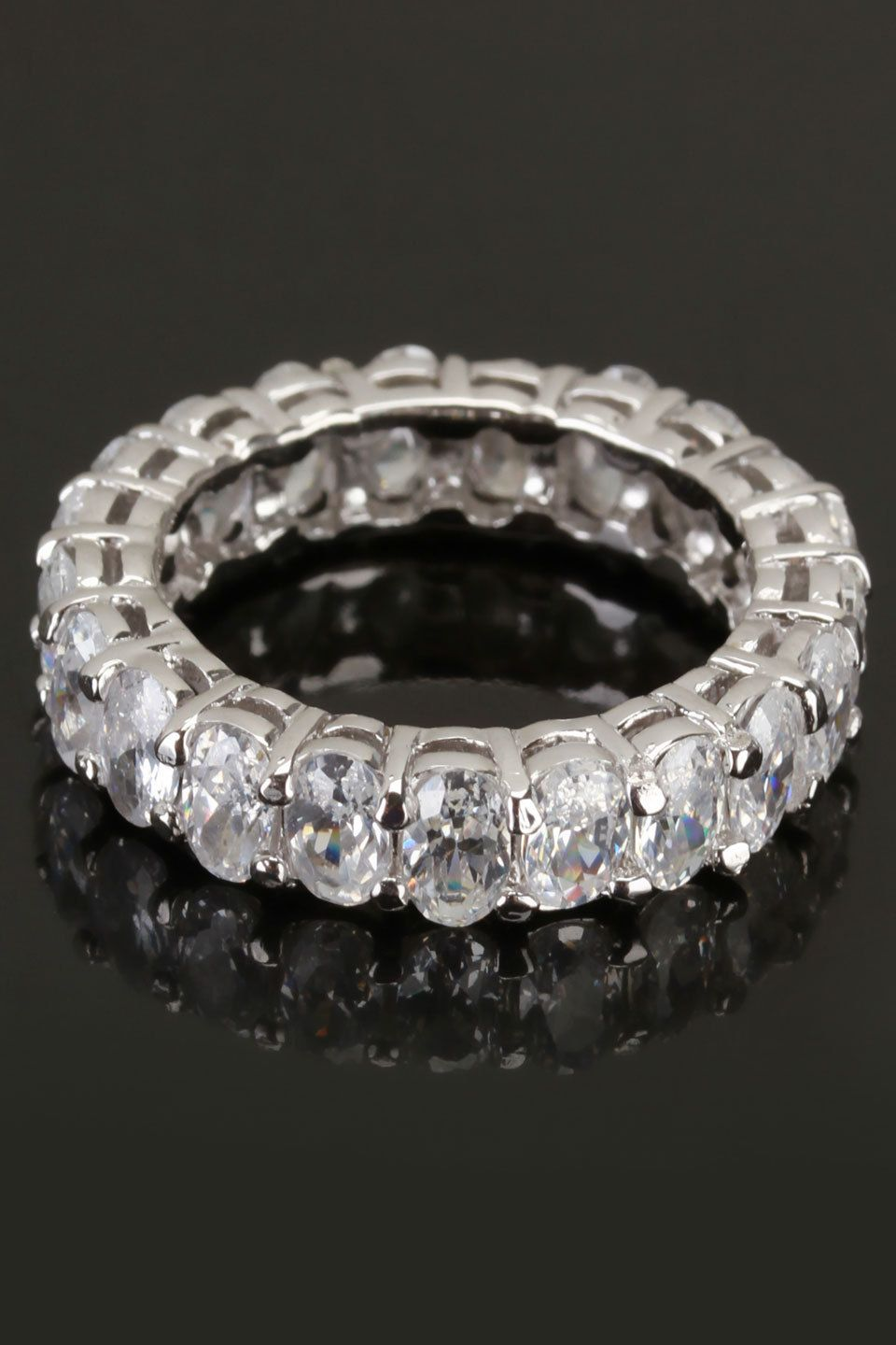Silver & Co Sterling Silver & Zirconia Opulence Ring - Beyond the Rack awesome ring  only $40!!