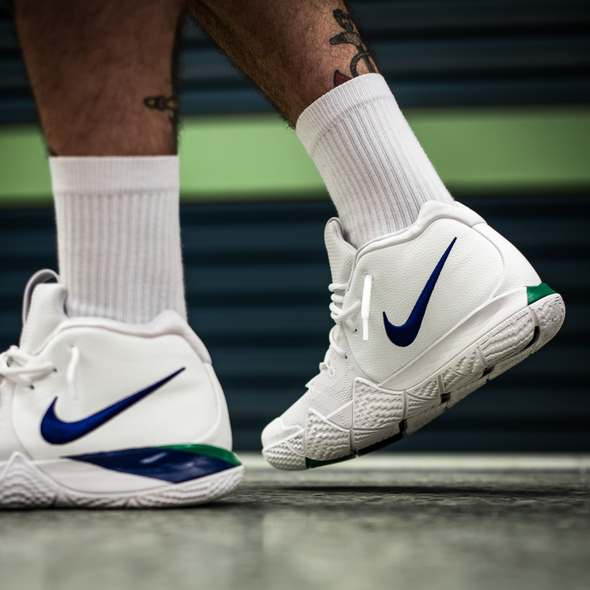 65fa54217425 Dominate the game like Uncle Drew himself with a pair of those Nike Kyrie 4