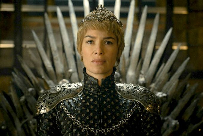 Queen Cersei, now thats scary