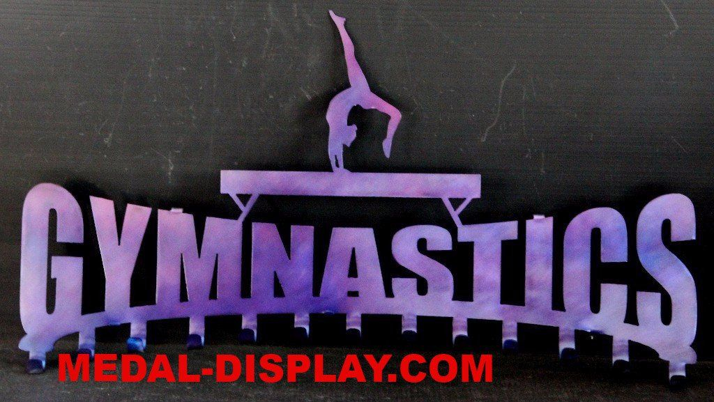 Gymnast Ribbon Display Gymnastics Ribbons Hanger Medals Holder