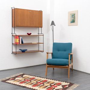 Sideboards Regale 60er Jahre Omnia Regalsystem Von Hilker Teak Nr 7124 Karlsruhe Vintage Furniture Online Furniture Shelving