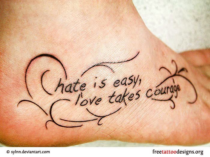 courage quotes tattoos - photo #24