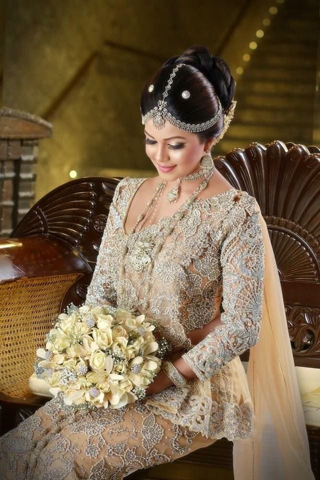 Sri Lankan Bride Beautiful wedding dresses, Womens