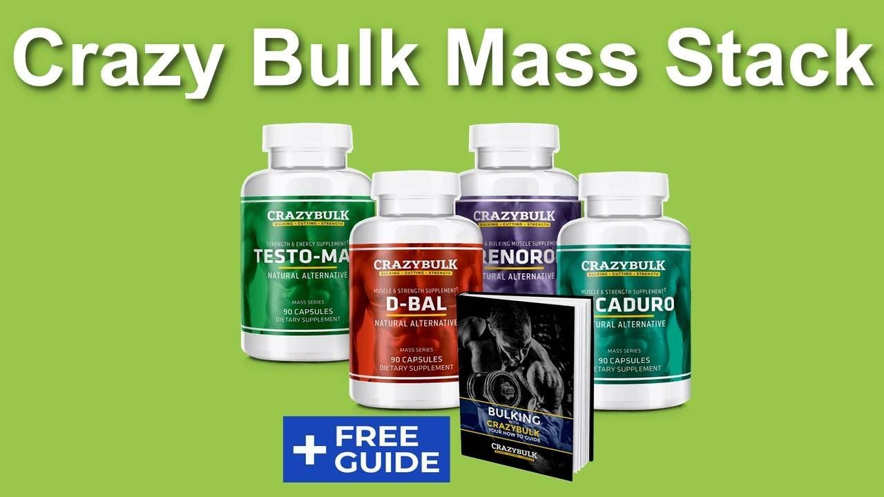 Crazy Bulk Mass Stack - Crazy Bulk Cutting Stack Results