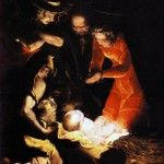 "264. LUCA CAMBIASO(1527 - 1585) ""NATIVITY"" (1550)  OIL ON CANVAS, 135 x 118 cm, BRERA PICTURE GALLERY, MILAN"