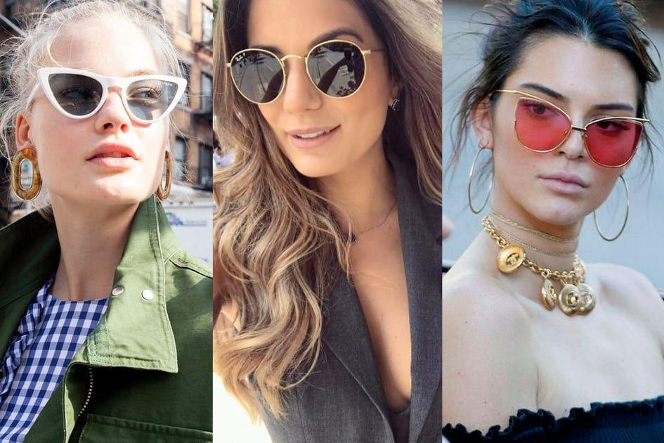 f3b151a46 Vem ver as tendências de óculos de sol para a primavera-verão 2018/2019