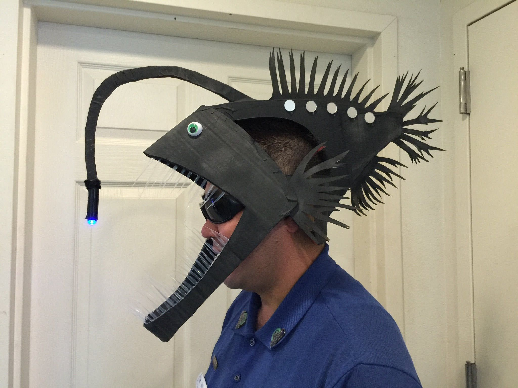 Resultado de imagen de abyssal fish costume creatures of for Angler fish costume