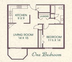 Decorate 500 square foot apartment floor plan - 2 bedroom apartments in las vegas under 700 ...