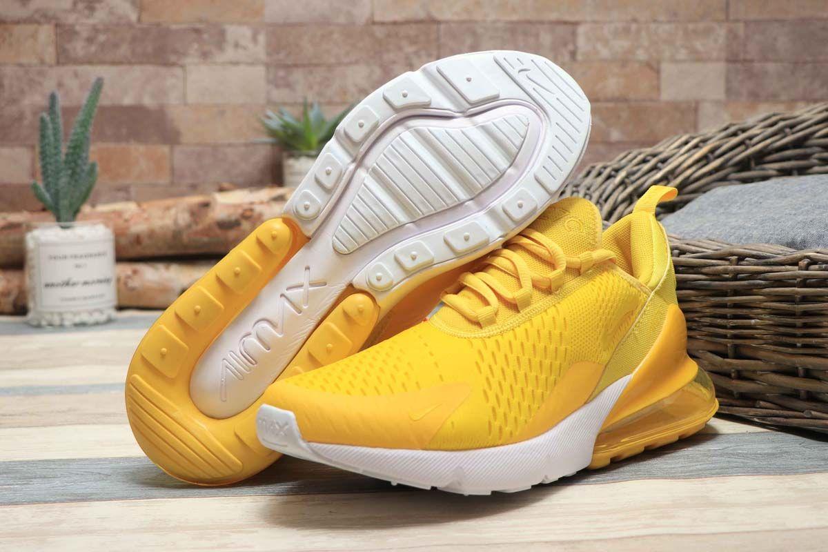 Plantación Rebaño Calle principal  Nike Air Max 270 Bright Yellow/Mango