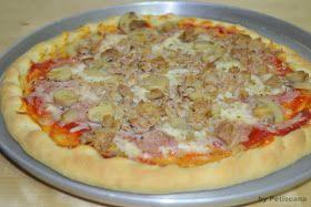 Petiscana: Massa de Pizza (não precisa levedar)