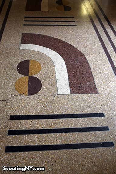 Prewar Building Lobby Decor Floor Pattern Prewar