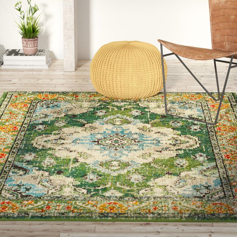 Annabel Green Area Rug
