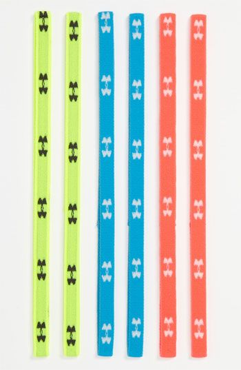 760fa2973799d Under Armour Skinny Headbands (6-Pack) These Are Awesome & They Don ...
