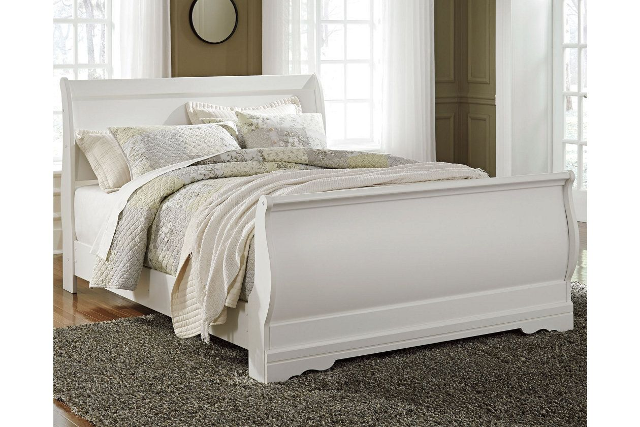 Best Anarasia Queen Sleigh Bed With Images Bedroom Sets 400 x 300