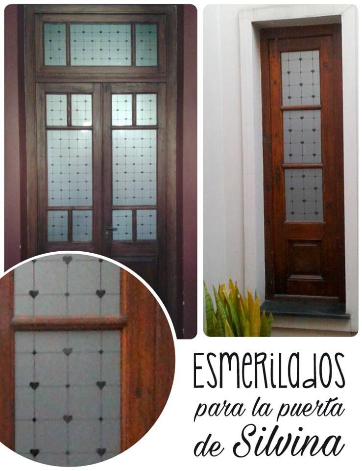 Esmerilado Para Puerta De Vidrios Repartidos Www Vinilosniakate Com Ar Esmerilado Puerta De Vidrio Vidrio