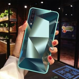 For Samsung Galaxy A50 Case Luxury Diamond Mirror Glossy Cover For Samsung M30 A10 A20 A30 A40 A60 A70 A80 S10 Note 10 Plus Case