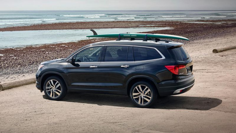 The All New 2017 Honda Pilot Has A V6 Train With Capacity 3 5 Liters