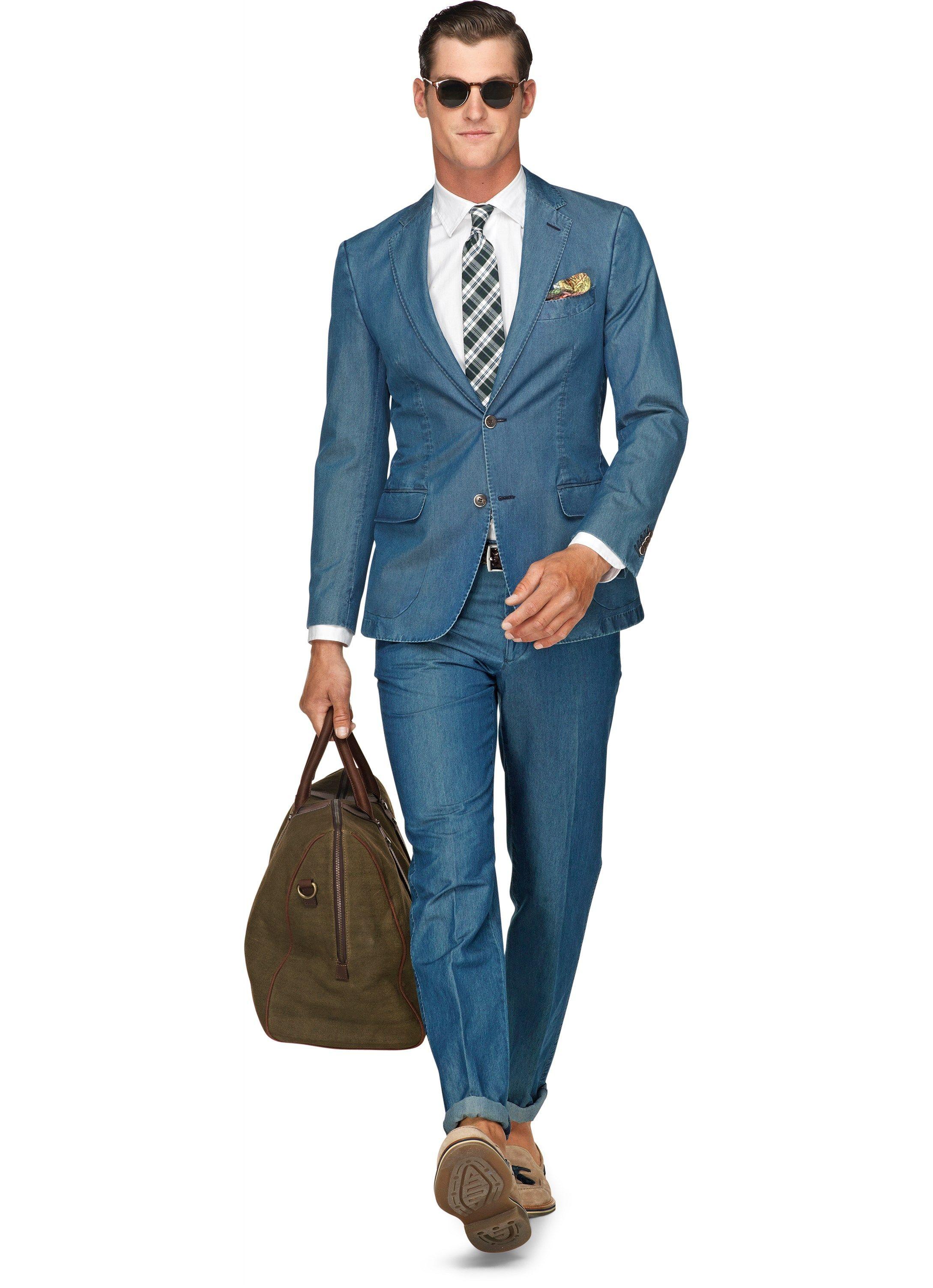 Suitsupply Suit Blue Plain Copenhagen   Dapper Gentleman   Pinterest ...