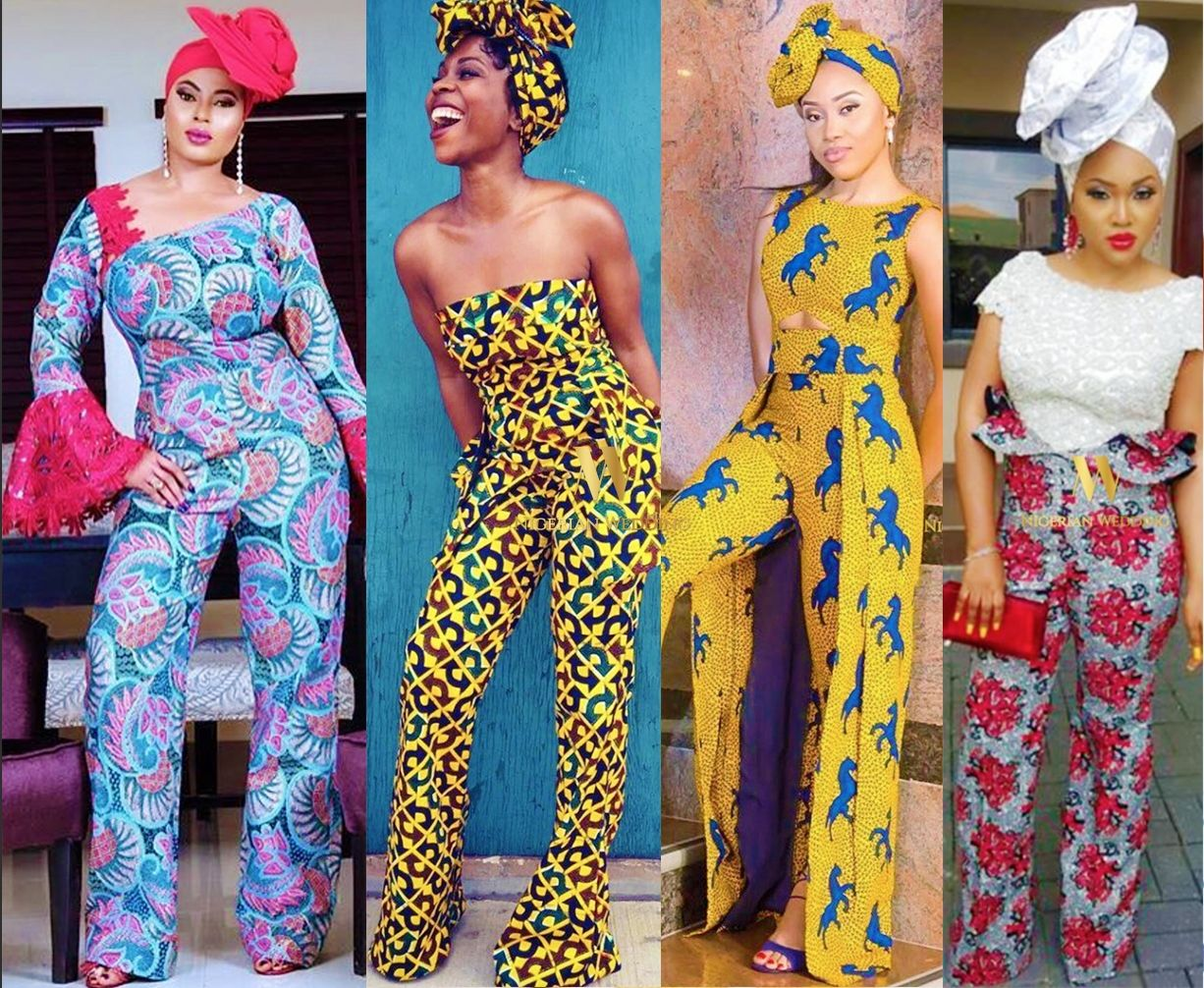 59542953592 Nigerian wedding latest   classy ankara jumpsuit styles for wedding guests 1