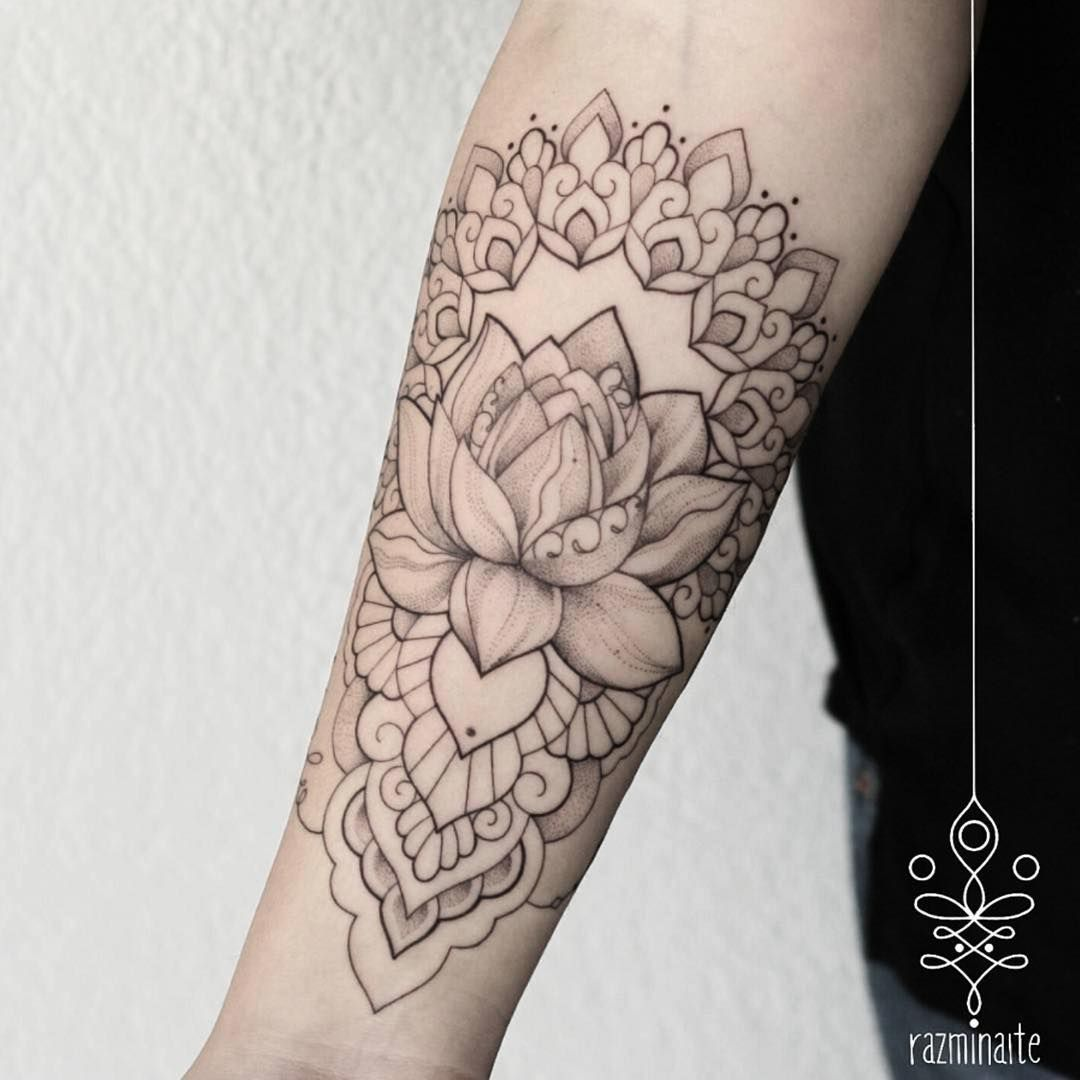 Delicate And Beautiful Lotus Flower By Razminaite To