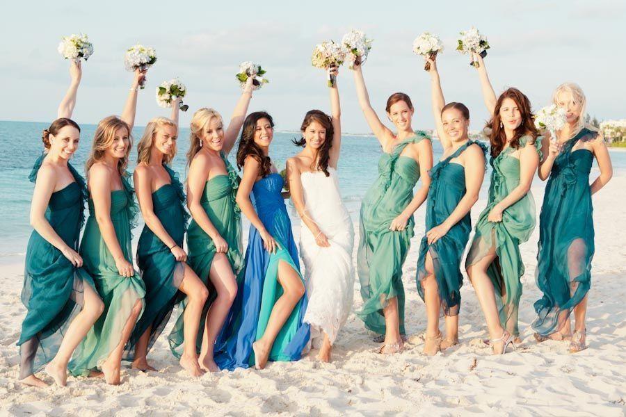 Ocean Themed Bridesmaid Dresses One Of My Favorite Things I Ve
