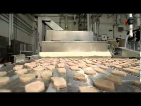 ▶ No PINK GOOP - McDonald's Reveal How They Make Chicken McNuggets Only From Breast - YouTube