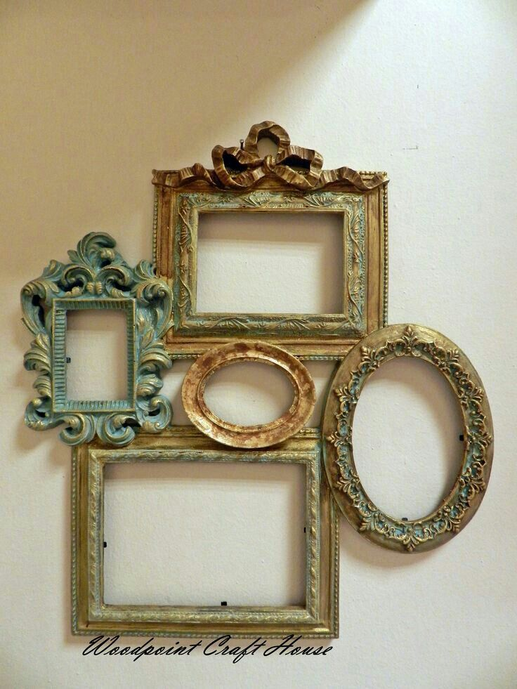 empty frames picture frames wood paintings frames ideas decoupage mixed media frame placement getting older mirrors - Empty Picture Frame