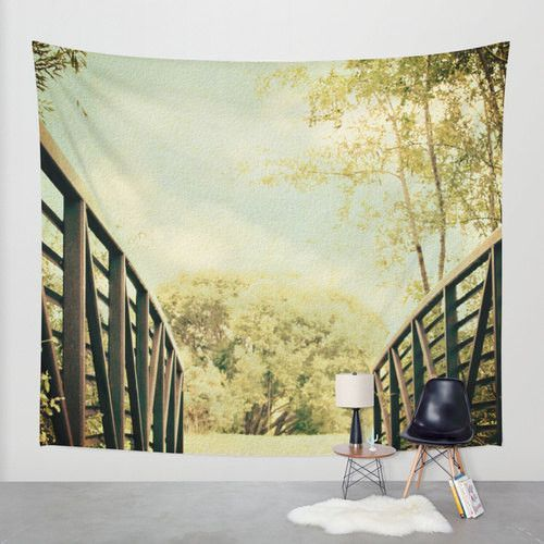 Bridge to Paradise Tapestry | Pinterest | Dorm room, Dorm and Fine ...