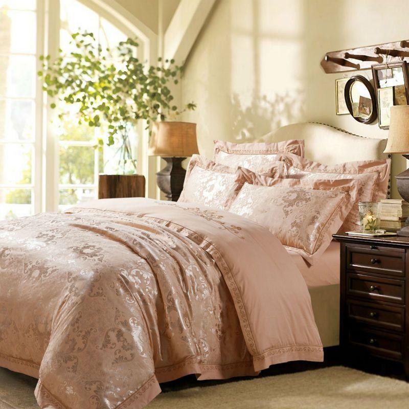 Home textile,tencel embroidered christmas bedding set,4ps bedding