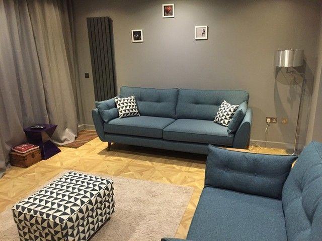 Dfs Zinc Sofa Grey , Dfs Zinc Sofa in 2020 | Retro sofa